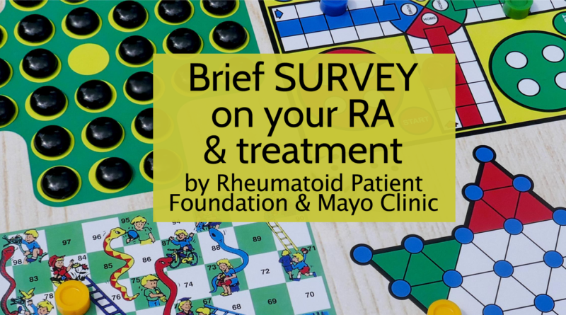 best RA blog survey RPF & Mayo Clinic