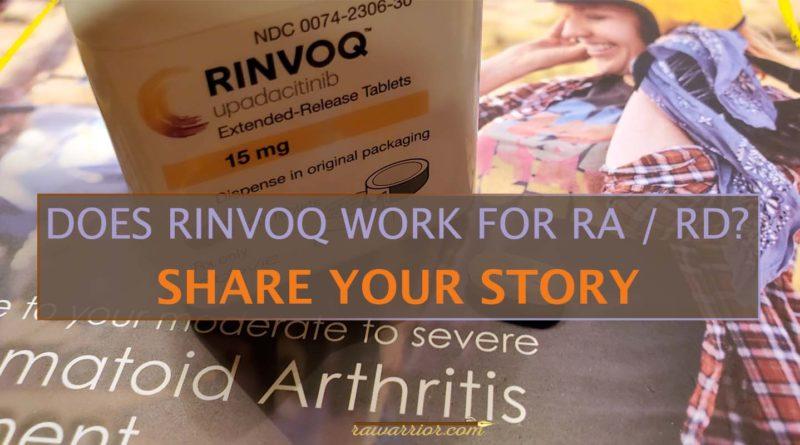 RINVOQ medication RA RD