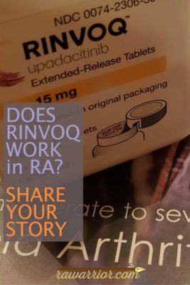RINVOQ medication RA RD