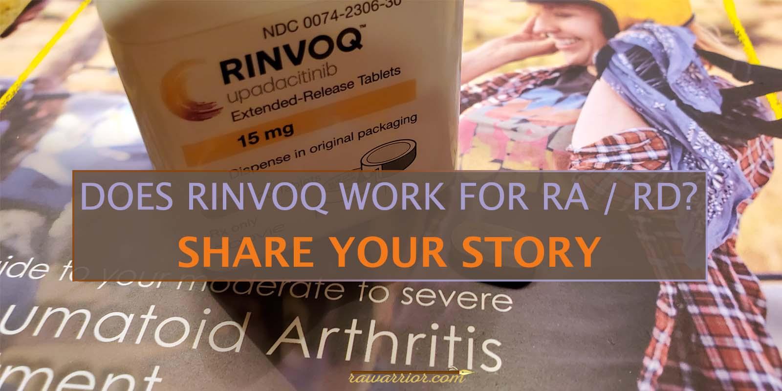 RINVOQ Medication for RA / RD
