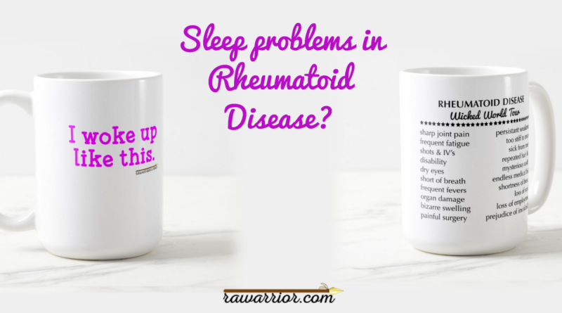 Sleep Problems in Rheumatoid Arthritis