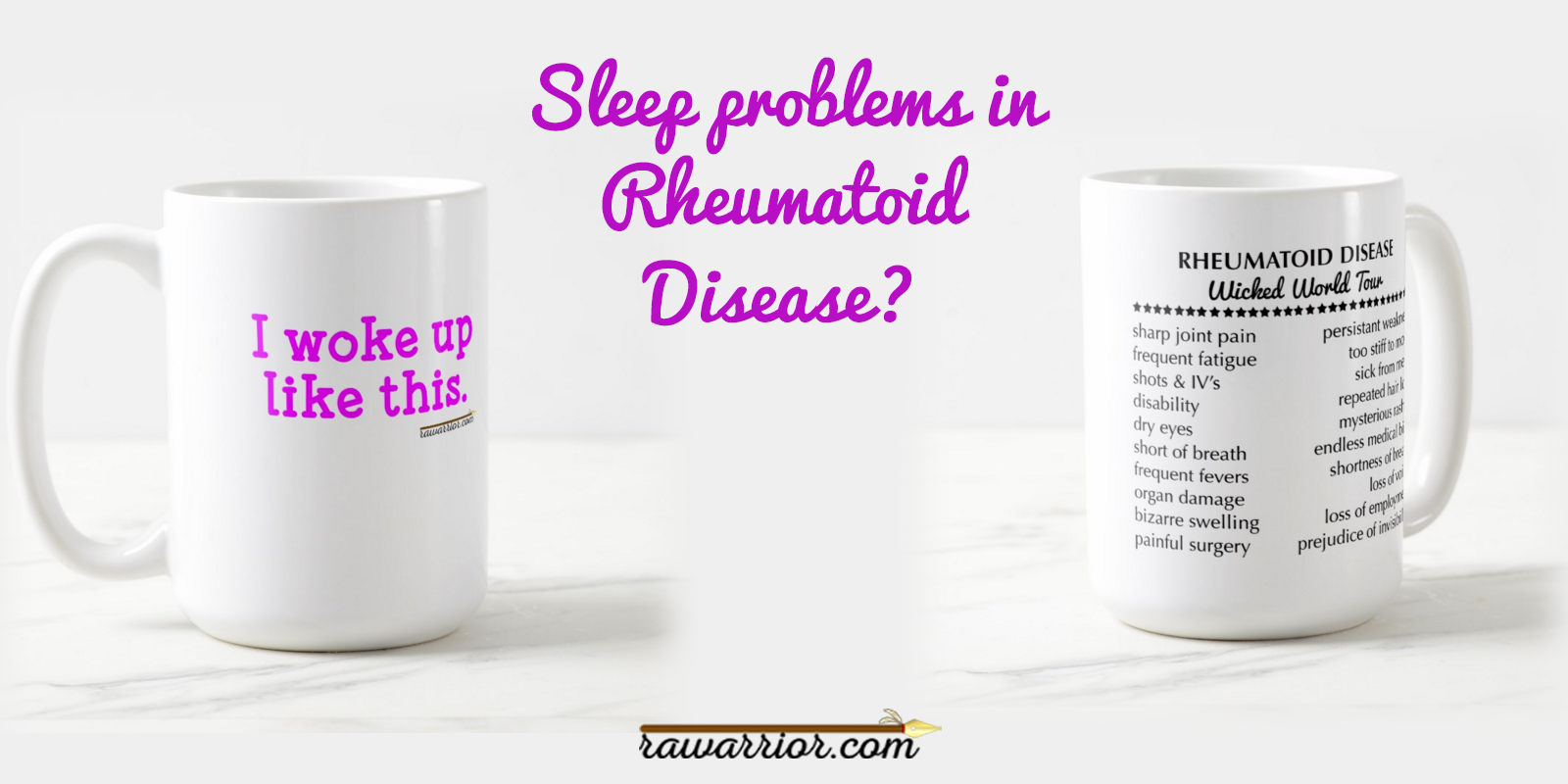 Sleep Problems in Rheumatoid Arthritis